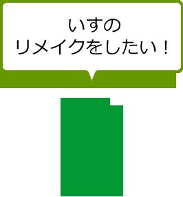 いすのリメイクをしたい!