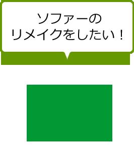 ソファーのリメイクをしたい!
