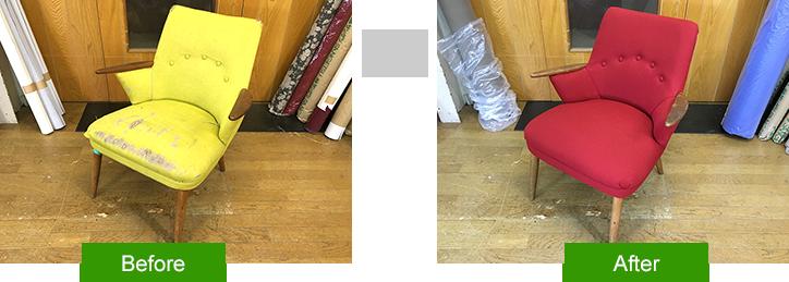いすの修理